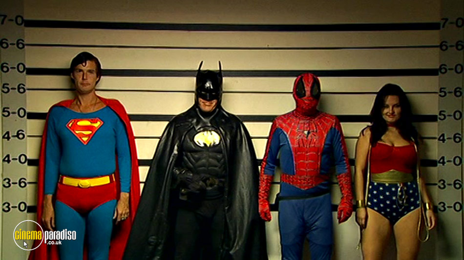 Confessions of a Superhero online DVD rental