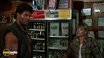 A still #2 from Hands of Steel (1986) with Janet Agren and Daniel Greene