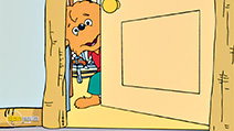 A still #3 from The Berenstain Bears: Go to School (2002)