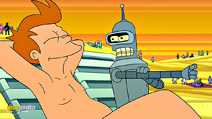 Still #8 from Futurama: Bender's Big Score