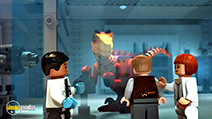 A still #35 from Lego Jurassic World: The Indominus Escape (2016)