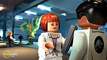 A still #33 from Lego Jurassic World: The Indominus Escape (2016)