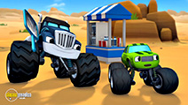 A still #4 from Blaze and the Monster Machines: High-Speed Adventures (2014)