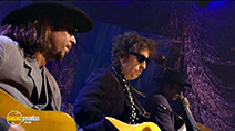 A still #9 from Bob Dylan: Unplugged (1994)