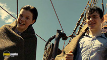 A still #22 from The Chronicles of Narnia: The Voyage of the Dawn Treader with Georgie Henley and Skandar Keynes