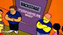 Still #1 from The Simpsons: Backstage Pass