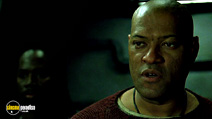 A still #27 from The Matrix Revolutions with Laurence Fishburne