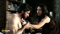 A still #22 from X-Men Origins: Wolverine with Hugh Jackman and Lynn Collins