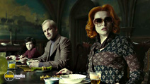A still #24 from Dark Shadows with Jonny Lee Miller and Helena Bonham Carter