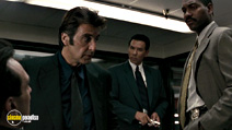 A still #19 from Heat with Al Pacino and Wes Studi