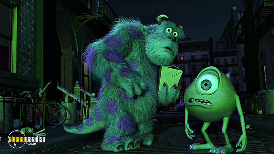 Monsters Inc. online DVD rental