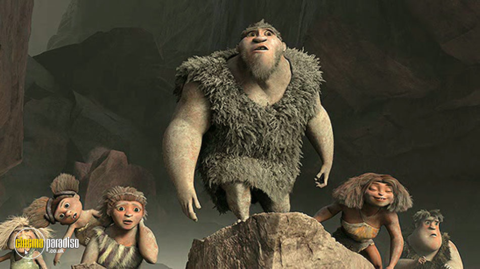 The Croods online DVD rental