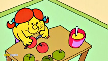 Still #8 from Mr Men and Little Miss: Mr Bump Goes on a Trip