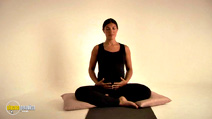 Still #2 from Pregnancy Health Yoga with Tara Lee
