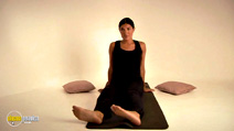 Still #5 from Pregnancy Health Yoga with Tara Lee