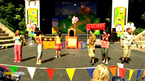 Still #2 from The Big Party! Live Show! with Justin Fletcher