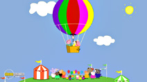 Still #2 from Peppa Pig: The Balloon Ride