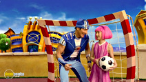 Still #5 from Lazy Town: Sportacus on the Move!