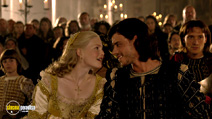 A still #8 from The Borgias: Series 1 with Holliday Grainger and François Arnaud