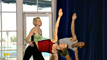 Still #3 from Antonia Kidman Yoga: Power and Style of Ashtanga