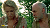 A still #4 from The Walking Dead: Series 1 with Jeffrey DeMunn and Laurie Holden