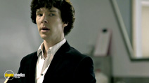 A still #14 from Sherlock: Series 1 with Benedict Cumberbatch