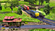 Still #2 from Chuggington: Traintastic Crew