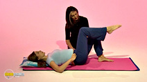 Still #4 from Lynne Robinson's Pilates for Pregnancy