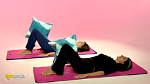 Still #8 from Lynne Robinson's Pilates for Pregnancy