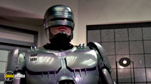 A still #8 from RoboCop (1987) with Peter Weller