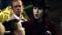 A still #13 from Charlie and the Chocolate Factory with Johnny Depp and Adam Godley