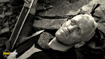 A still #14 from The Seventh Seal with Max von Sydow
