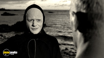 A still #16 from The Seventh Seal with Bengt Ekerot
