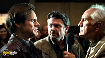 A still #8 from Yes Man with Terence Stamp, Jim Carrey and John Michael Higgins