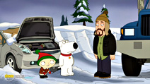 Still #8 from Family Guy: Road to the North Pole
