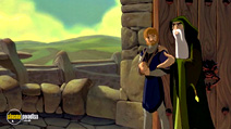 Still #6 from The Magic Sword: Quest for Camelot