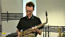 Still #5 from Jools Holland's Music Makers: The Saxophone with Pete Thomas
