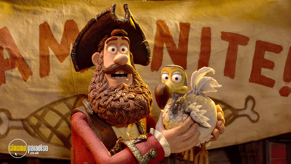 The Pirates! In an Adventure with Scientists (aka The Pirates! Band of Misfits) online DVD rental