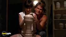 A still #2 from Ghost with Demi Moore and Patrick Swayze