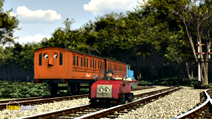 Still #4 from Thomas and Friends: Blue Mountain Mystery