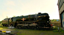 Still #7 from Classic Steam Train Collection: Clan Line