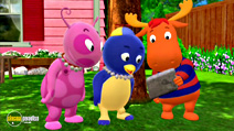 Still #2 from Backyardigans: Cave Party