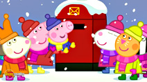 Still #1 from Peppa Pig: Peppa's Christmas