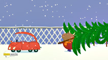 Still #5 from Peppa Pig: Peppa's Christmas
