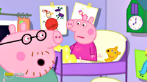 Still #8 from Peppa Pig: Peppa's Christmas