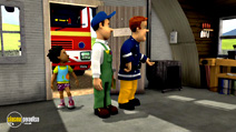 Still #6 from Fireman Sam: Sticky Situatuion