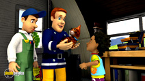 Still #7 from Fireman Sam: Sticky Situatuion