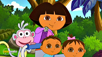 Still #3 from Dora the Explorer: Super Babies