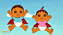 Still #6 from Dora the Explorer: Super Babies