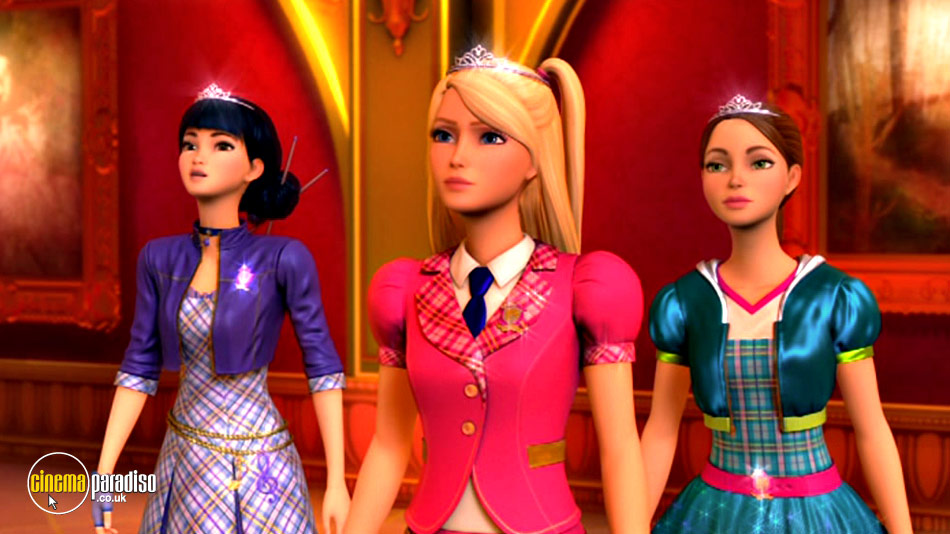 Barbie: Princess Charm School online DVD rental